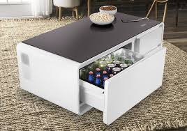 sobro cooler coffee table the coolector