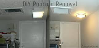 taking off popcorn ceiling.  Off Diy Knockdown Texture Popcorn Ceiling Removal Intended Taking Off O