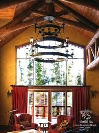 craftsman style chandelier foyer entry lighting