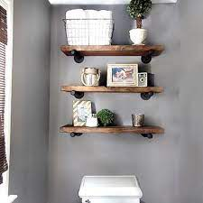 24 diy bathroom wall shelves design and