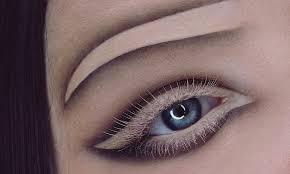 this negative e eyebrow makeup will make you do a double take ogiggles