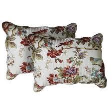 standard pillow shams. Patch Magic Finch Orchard Standard Pillow Shams (Set Of 2) E
