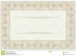 Blank Voucher Blank voucher stock vector Illustration of blank backdrop 24 1