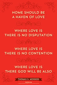 Lds Love Quotes Interesting Home Of Love