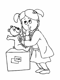 Best Of Doctor And Nurse Coloring Pages Teachinrochestercom