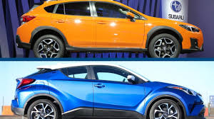 2018 subaru xv red. plain 2018 2018 subaru crosstrek vs toyota chr to subaru xv red