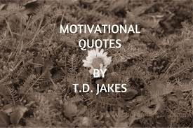 Td Jakes Quotes Delectable Motivational Quotes By Bishop TD Jakes The Lioness Mom