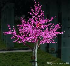 led artificial trees led artificial cherry blossom tree light light led bulbs height rainproof outdoor use led artificial trees