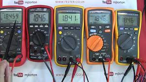 Multimeter Comparison Chart Review Mid Range Priced Multimeter Shootout Buyers Guide