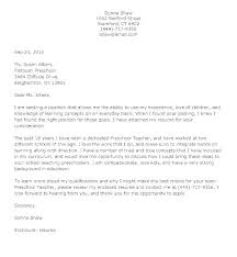 Example Of Education Cover Letters Special Education Cover Letters Letter Of Introduction Sample