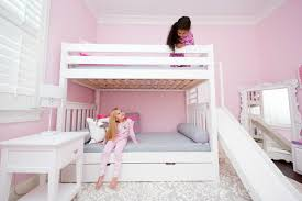 bunk beds with slides for girls. Contemporary Girls PoofGirlsonBunk Throughout Bunk Beds With Slides For Girls
