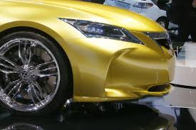 Baby Lexus LF-Ch Compact Hatch in the Flesh: Production Model ...