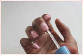after applying your nail polish run your brush along the ridge of your nails for extra reinforcement if your nails are long enough apply some underneath