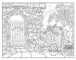 Coloring pages for children : Coloring Garden Stock Illustrations 19 854 Coloring Garden Stock Illustrations Vectors Clipart Dreamstime