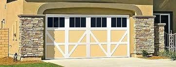 garage door style windows alluringlyshortcom