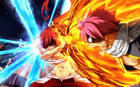 fairy tail anime fiction natsu dragneel character wallpaper in 1440x900 resolution