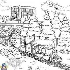 Trains are subdivided on passenger and cargo. Thomas The Train Coloring Pages Printable For Free Train Coloring Pages Coloring Pages Coloring Pages For Kids