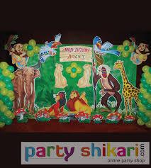 Jungle Decoration Jungle Theme Decoration For Rent