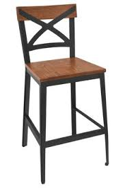 industrial restaurant furniture. Erwin Bar Stool With Distressed Brown Seat - \u0026 Restaurant Furniture,  Tables, Chairs Industrial Restaurant Furniture