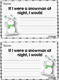 Snowman Writing Cliparts - Cliparts Zone