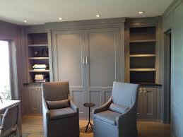 murphy bed office. Splendid Queen Murphy Bed Interesting Ideas With Bookcase Built-in Galveston Grey Paint Office