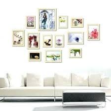 multi photo frame wall art