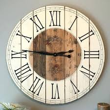 oversized farmhouse clock perfect decoration oversized clocks clocks farmhouse clocks interesting farmhouse oversized farmhouse clock