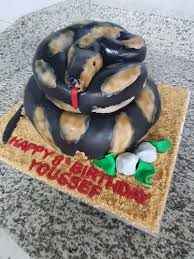 3d Cake Snake Trianon Patisserie Boulangerie