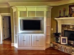 built in a center solves awkward living room design