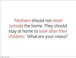 essay about working mothers employed mothers an essay example for your consideration