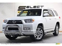 2013 Toyota 4Runner Limited 4x4 in Blizzard White Pearl - 135099 ...