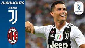 Juventus 1-0 Milan | Ronaldo Scores to Win First Trophy with Juve!
