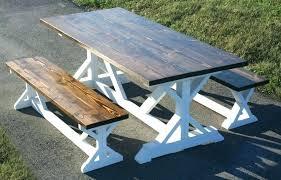 farmhouse bench table farmhouse dining bench farmhouse dining bench x base farmhouse dining table with 2 farmhouse bench table