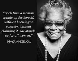 "Maya Angelou Famous Quotes Magnificent I Am A Feminist"" Maya Angelou Yusairah Mayet"
