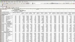 Sample Accounting Excel Spreadsheet Accounting Spreadsheet Barca Fontanacountryinn Com