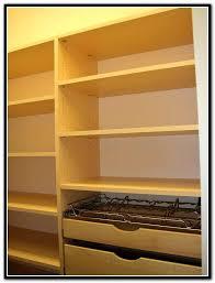 building closet shelves plywood