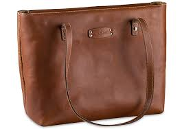 classic leather tote bag seconds