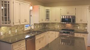 Backsplash Ideas For Black Granite Countertops Beauteous Backsplash Ideas For Black Granite Countertops Kitchen BackSplash