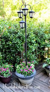 Solar Square Patio Fence Post LightSolar Garden Post Lights