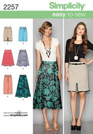 Simplicity Skirt Patterns Best Here Is A Nice Simple Spring Skirt To Sew Patterns Pinterest