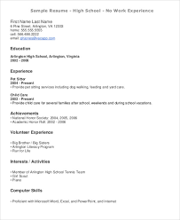 Resume For Teens Simple 60 Teenage Resume Templates PDF DOC Free Premium Templates