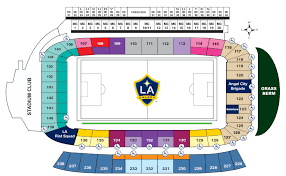 Galaxy Seating Chart Platinum Seats Dignity Health Sports Park
