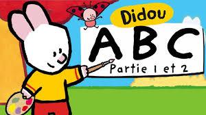 Apprendre L Alphabet Avec Didou A Z Partie 1 Et 2 Hd Youtube