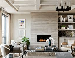 image of how to decorate a living room with a fireplace modern