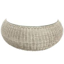white wicker end table round woven coffee table round woven coffee table round rattan coffee table