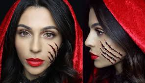 more gory look think about adding blood or claw marks to your face of arms etc for a dramatic effect you could use special effects makeup