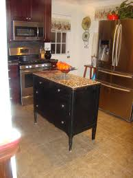 refurbished/repurposed an old dresser for my kitchen island. Added ...