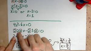 virtuallymath com solving quadratic equations with only two terms on the left you