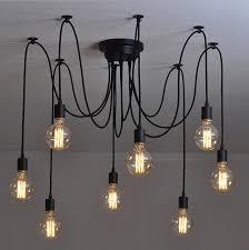 hanging edison lights brilliant vintage pendant lamps rh loft retro bulbs with regard to 5
