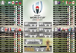 Download And Print Stuffs 2019 Rugby World Cup Fixtures